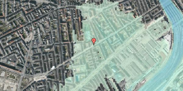 Stomflod og havvand på Istedgade 68, 3. th, 1650 København V