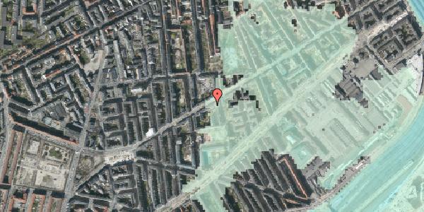 Stomflod og havvand på Istedgade 69, 4. th, 1650 København V