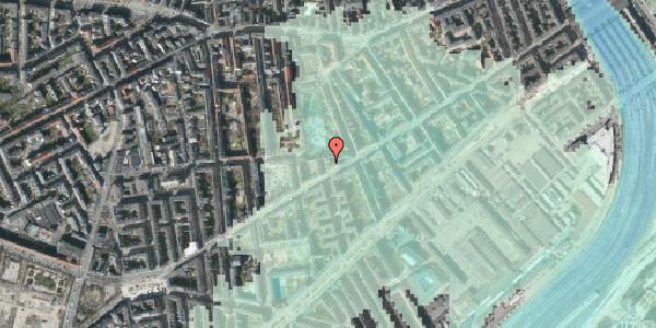 Stomflod og havvand på Istedgade 70, 2. , 1650 København V