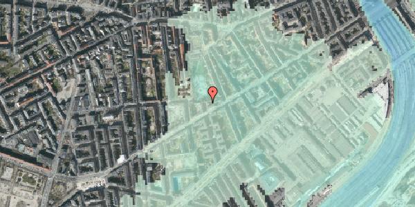 Stomflod og havvand på Istedgade 72, 3. , 1650 København V