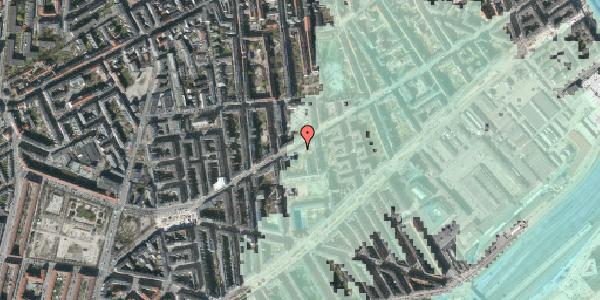 Stomflod og havvand på Istedgade 73, 4. th, 1650 København V