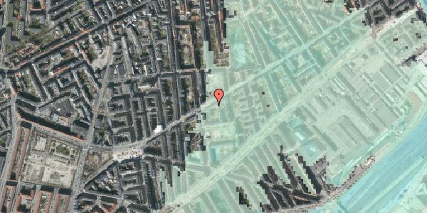 Stomflod og havvand på Istedgade 75, 4. th, 1650 København V