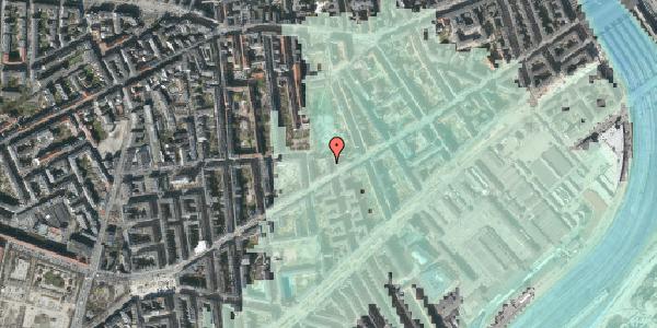 Stomflod og havvand på Istedgade 76, 1. , 1650 København V