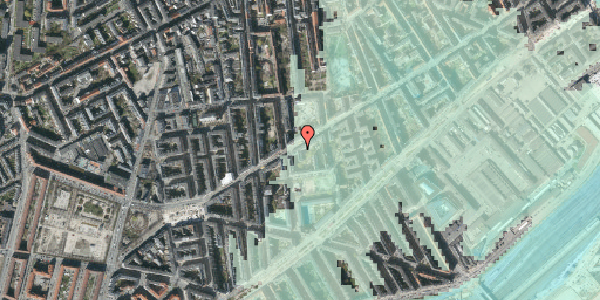 Stomflod og havvand på Istedgade 79, st. 1, 1650 København V