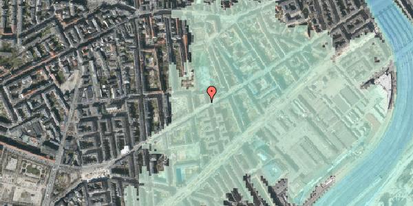 Stomflod og havvand på Istedgade 80, 1. th, 1650 København V