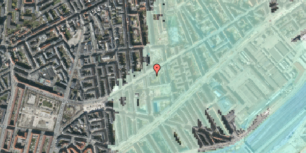 Stomflod og havvand på Istedgade 81A, 4. th, 1650 København V