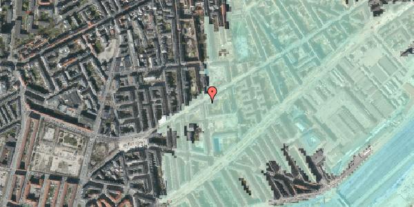 Stomflod og havvand på Istedgade 85, 4. , 1650 København V