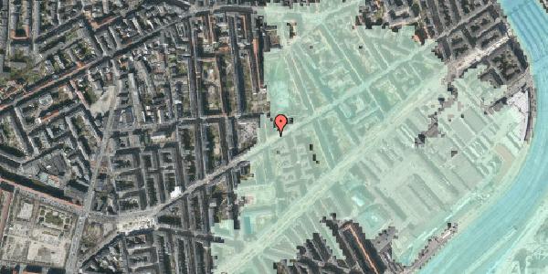 Stomflod og havvand på Istedgade 86, st. 2, 1650 København V