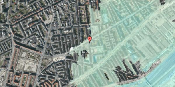 Stomflod og havvand på Istedgade 87, st. 1, 1650 København V