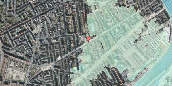 Stomflod og havvand på Istedgade 90, 5. , 1650 København V