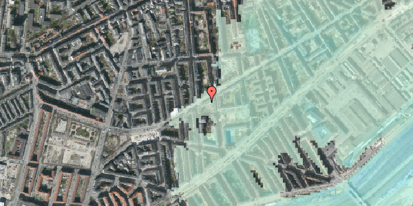 Stomflod og havvand på Istedgade 91, kl. th, 1650 København V