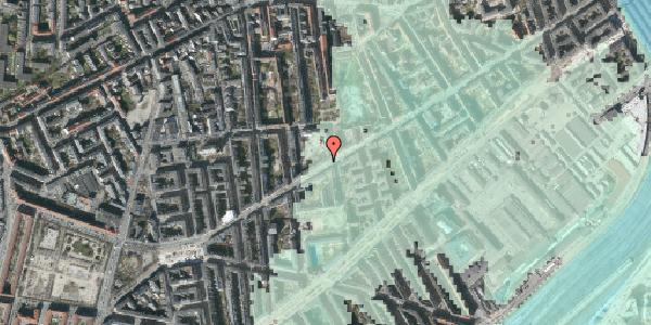 Stomflod og havvand på Istedgade 92, st. 1, 1650 København V