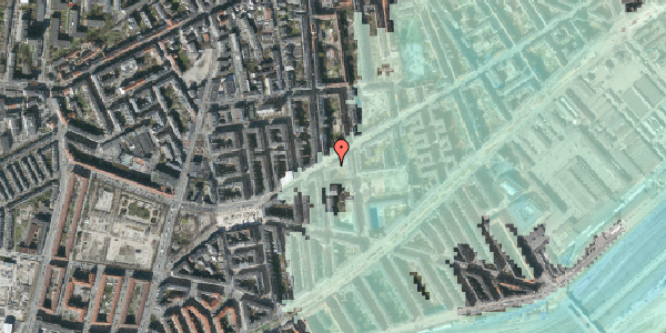 Stomflod og havvand på Istedgade 93, 3. th, 1650 København V