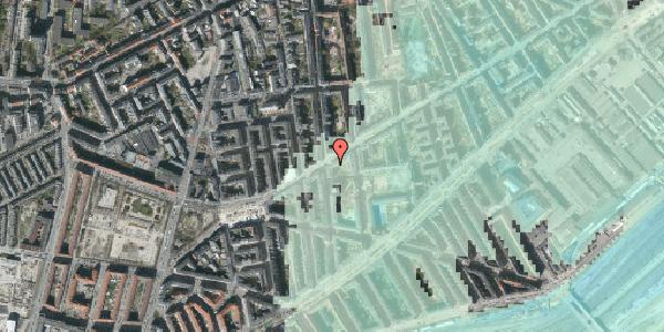 Stomflod og havvand på Istedgade 95, 5. th, 1650 København V