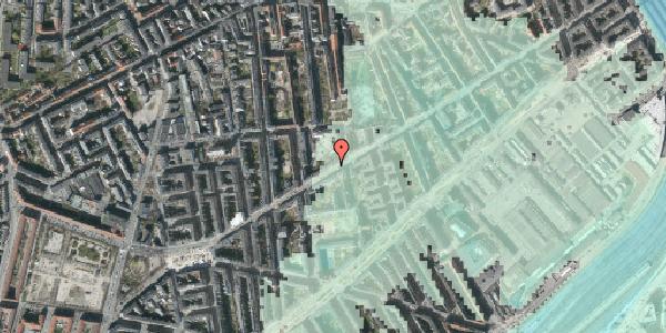 Stomflod og havvand på Istedgade 96, 4. tv, 1650 København V