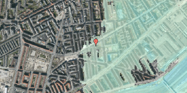 Stomflod og havvand på Istedgade 97, 4. th, 1650 København V