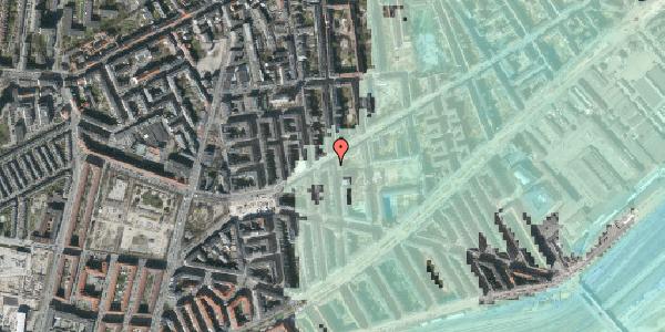 Stomflod og havvand på Istedgade 97, 4. tv, 1650 København V