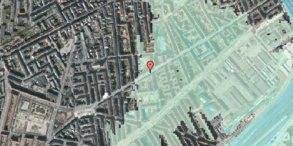 Stomflod og havvand på Istedgade 98, 4. th, 1650 København V