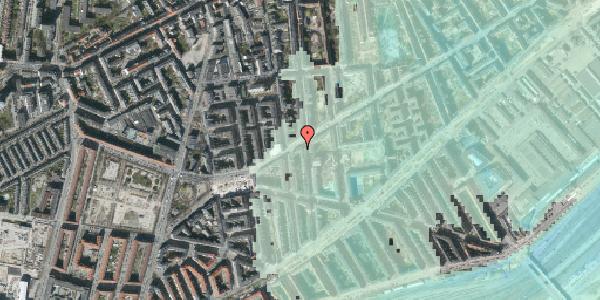 Stomflod og havvand på Istedgade 99, st. 1, 1650 København V