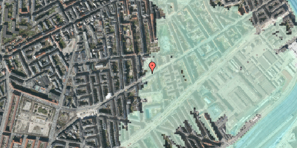 Stomflod og havvand på Istedgade 100, st. tv, 1650 København V