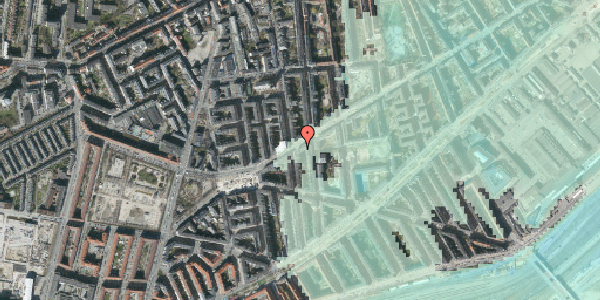 Stomflod og havvand på Istedgade 101, 4. th, 1650 København V