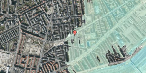Stomflod og havvand på Istedgade 103, 1. , 1650 København V