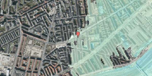 Stomflod og havvand på Istedgade 103, 3. , 1650 København V