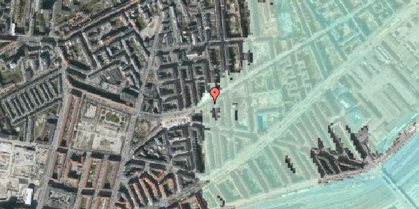 Stomflod og havvand på Istedgade 105, st. 3, 1650 København V