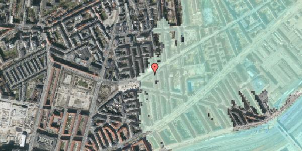 Stomflod og havvand på Istedgade 107, 1. th, 1650 København V