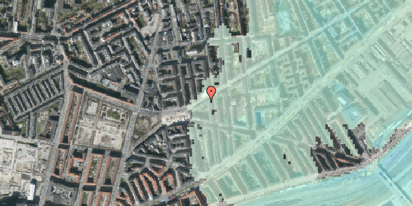 Stomflod og havvand på Istedgade 107, 3. th, 1650 København V