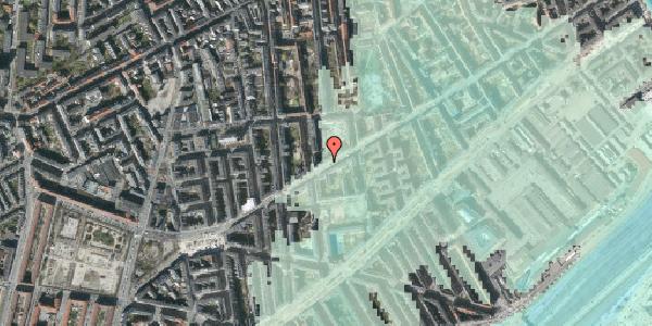 Stomflod og havvand på Istedgade 108, st. , 1650 København V