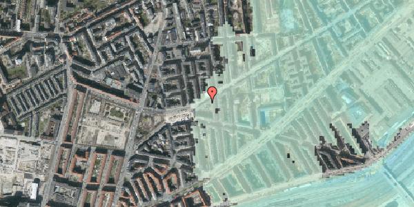 Stomflod og havvand på Istedgade 109, 2. th, 1650 København V