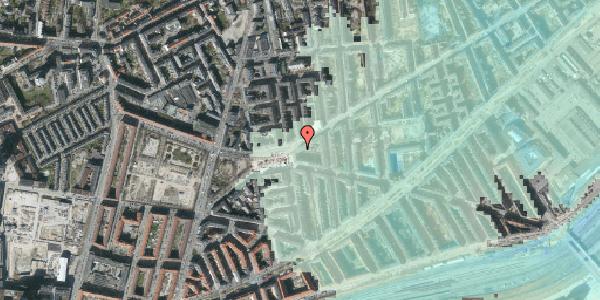 Stomflod og havvand på Istedgade 121, 1. th, 1650 København V