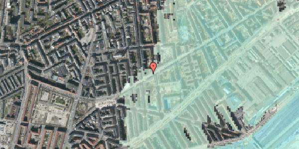 Stomflod og havvand på Istedgade 122, 2. , 1650 København V