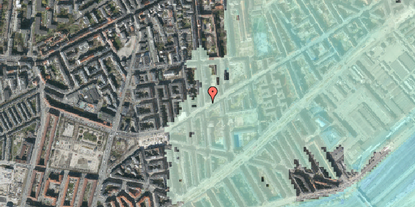 Stomflod og havvand på Istedgade 126, 3. tv, 1650 København V