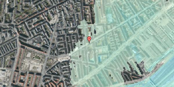 Stomflod og havvand på Istedgade 126, 4. th, 1650 København V
