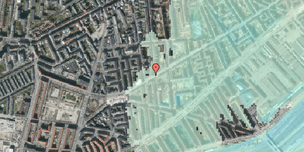 Stomflod og havvand på Istedgade 128, 4. th, 1650 København V