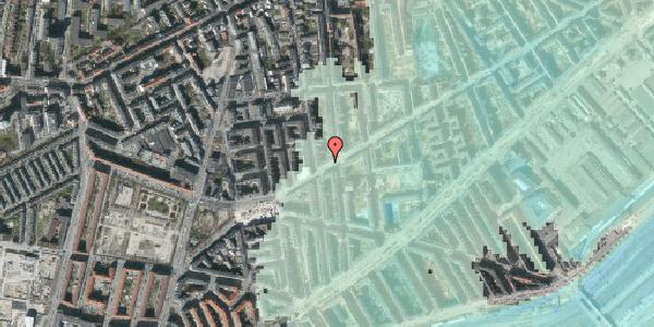 Stomflod og havvand på Istedgade 130, 5. , 1650 København V