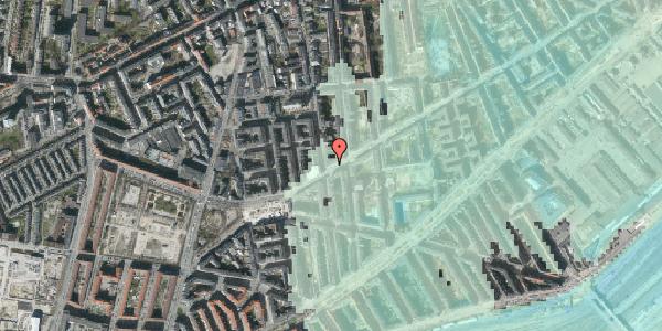Stomflod og havvand på Istedgade 132, 3. tv, 1650 København V