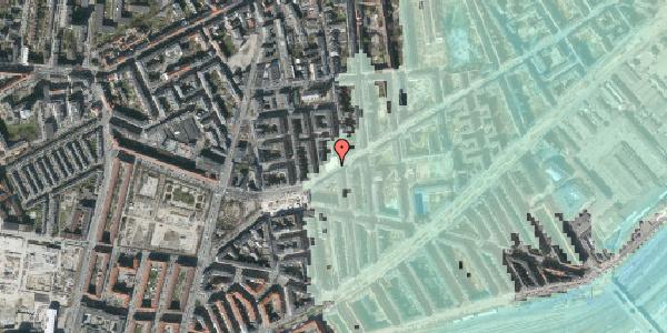 Stomflod og havvand på Istedgade 136, 2. th, 1650 København V