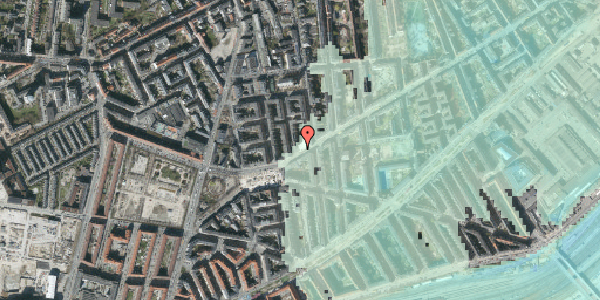 Stomflod og havvand på Istedgade 138, st. 2, 1650 København V