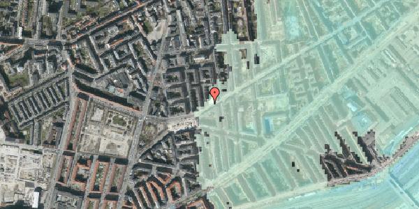 Stomflod og havvand på Istedgade 138, st. 3, 1650 København V