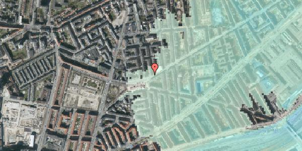 Stomflod og havvand på Istedgade 140, 1. , 1650 København V
