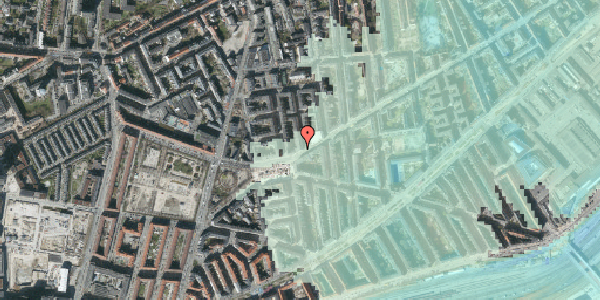 Stomflod og havvand på Istedgade 140, 5. th, 1650 København V