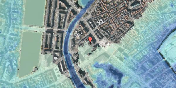 Stomflod og havvand på Jernbanegade 4A, 2. th, 1608 København V