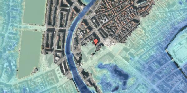 Stomflod og havvand på Jernbanegade 4, st. , 1608 København V