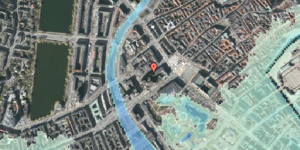 Stomflod og havvand på Jernbanegade 7, kl. 1, 1608 København V