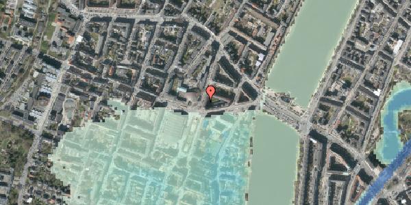 Stomflod og havvand på Julius Thomsens Gade 12, 2. tv, 1632 København V