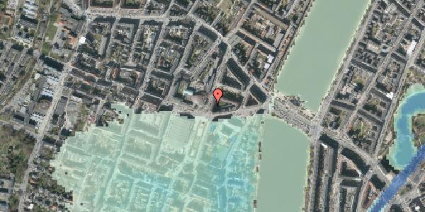 Stomflod og havvand på Julius Thomsens Gade 12, 3. tv, 1632 København V