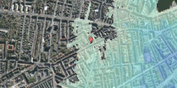 Stomflod og havvand på Kingosgade 1, 2. , 1623 København V
